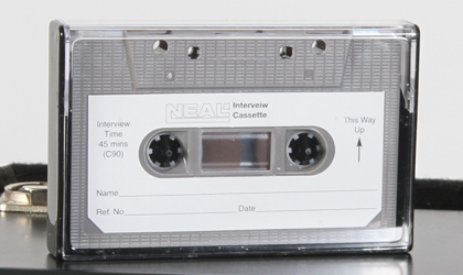 neal recorder tapes