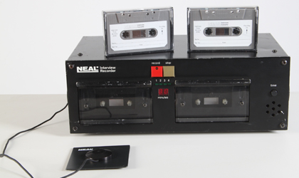 neals police interview recorder